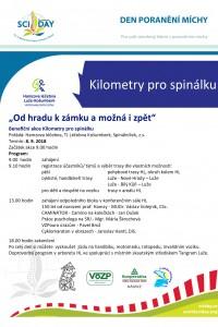 Košumberk - Kilometry pro spinálku